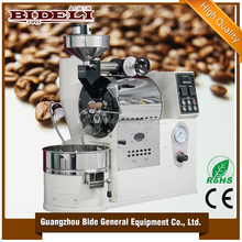high quality commercial small 1.5kg coffee bean roaster machine