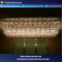 modern LED light lamp, crystal islamic lighting