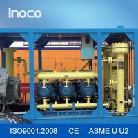 INOCO skid-mounted oil gas water three phase separator