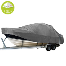 Durable Stormproof 600D Winter Tri V Hull Boat Cover