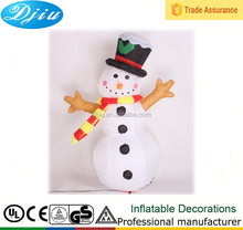 CHRISTMAS INFLATABLE GIANT 12' SNOWMAN WITH STICK ARMS