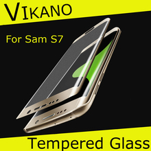 China Supply !!! 9H Hardness Hig Clear Screen Protector Tempered Glass for Samsung Galaxy S7 G9300