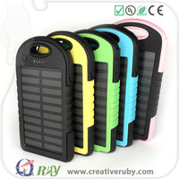 mobile phone charger portable solar power bank 4000mAh