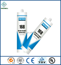 Super neutral polyester fiber glass pieces silicone sealant