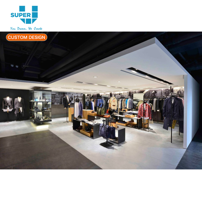 Tailor Made Shopping Mall Commercial Display Clothing Kiosk Design