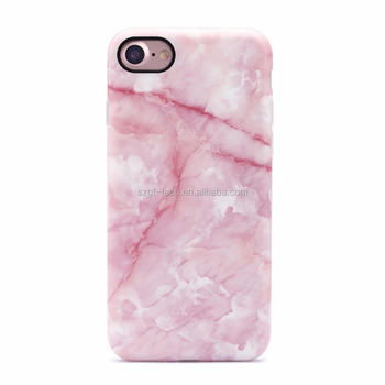 Marble Pattern Stone Texture Anti-slip Soft Flexible TPU Cover Case for Iphone 7 8