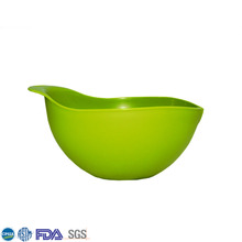 Top Quality Green In Different Size Plastic Mixing Bowls With Lids