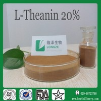 Tea extract series L-theanine(amino acid) powder assay 10%