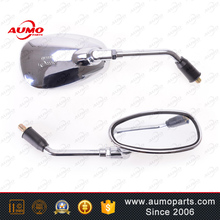 Best selling rear view mirror set for 150cc 250cc choppers motorcycle mirrors