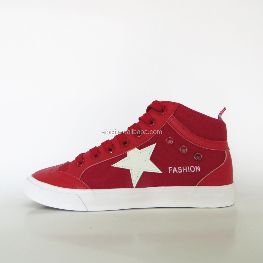 High Top Classic All star Canvas Leather sneakers shoes