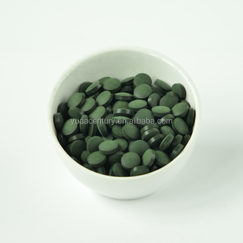 500mg Spirulina tablets