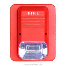 Hotel/KTV security for fire flasher and sounder for fire alarm equipment