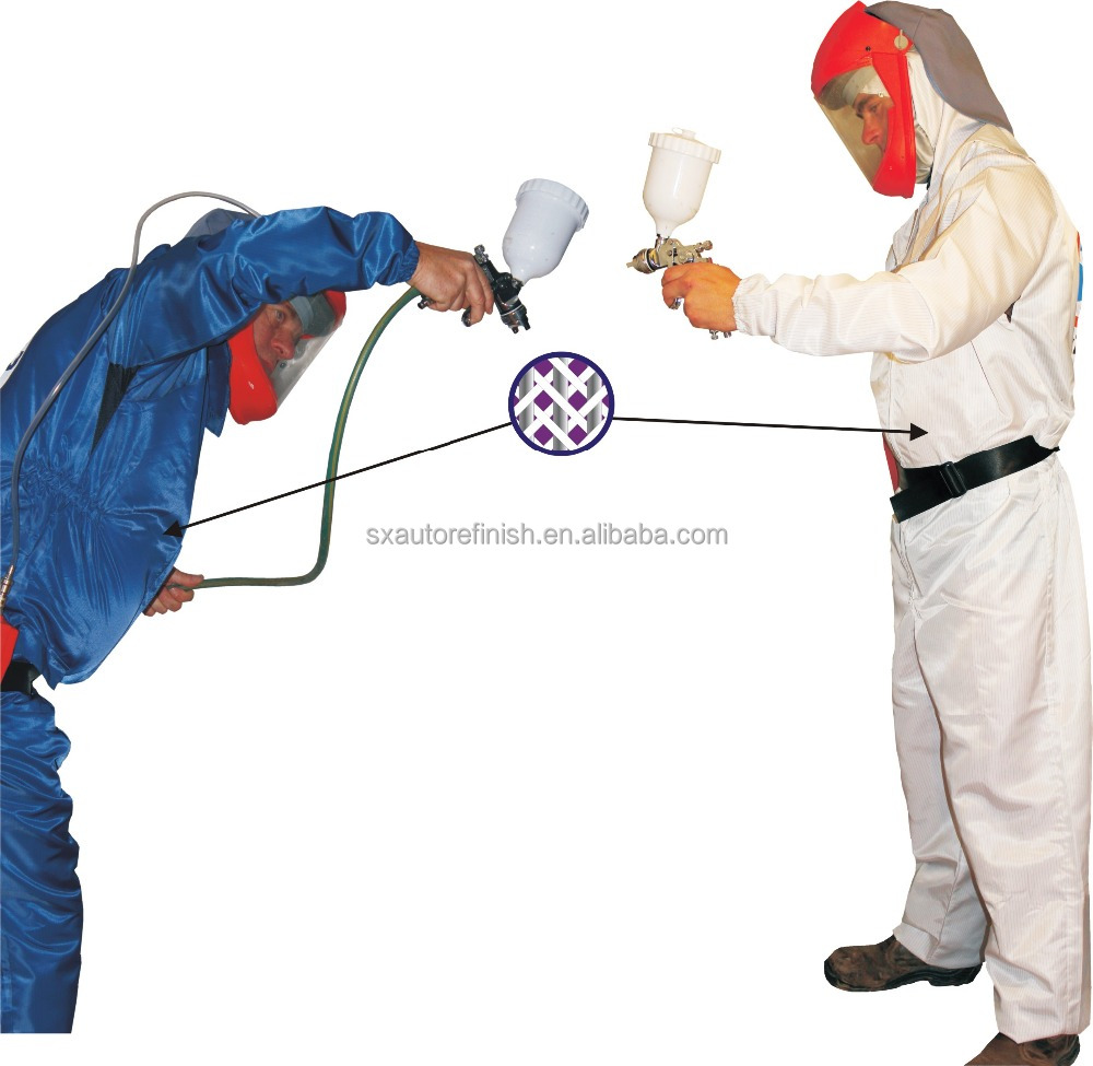 Manufacturers coverall for spray painters