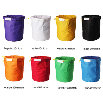 1 Gallon 8 Bag Set bubble bag with Pressing Screen Carry Bag