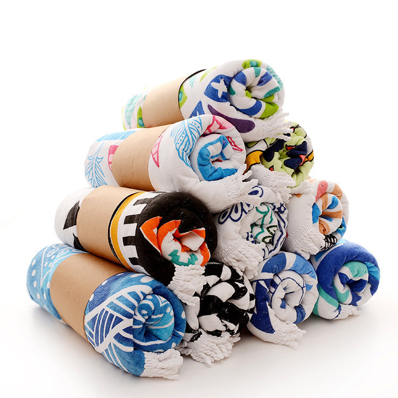Beach towel supplier china