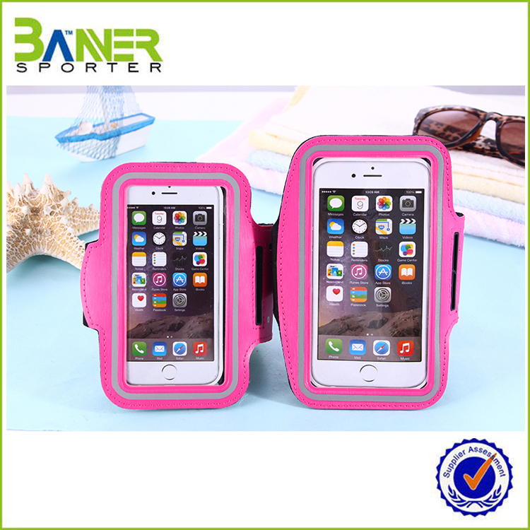 Nylon Adjustable Neoprene Armband for iphone 6