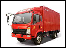 sinotruck howo light diesel engine cargo truck for sale made in china