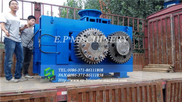 HSYQS-430 sponge iron briquette machine for making steel hot selling in South America