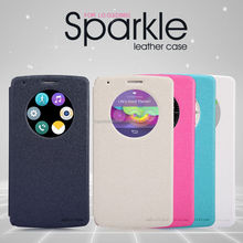 Hot! Nillkin Sparkle Series Leather Funky Mobile Phone Case For LG G3