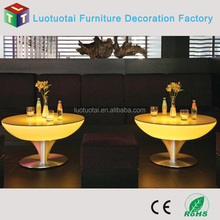rechargeable LI battery operated Light up home/bar/night club led furniture/cocktail table