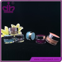 5g 10g sunscreen small plastic cosmetic sample jar