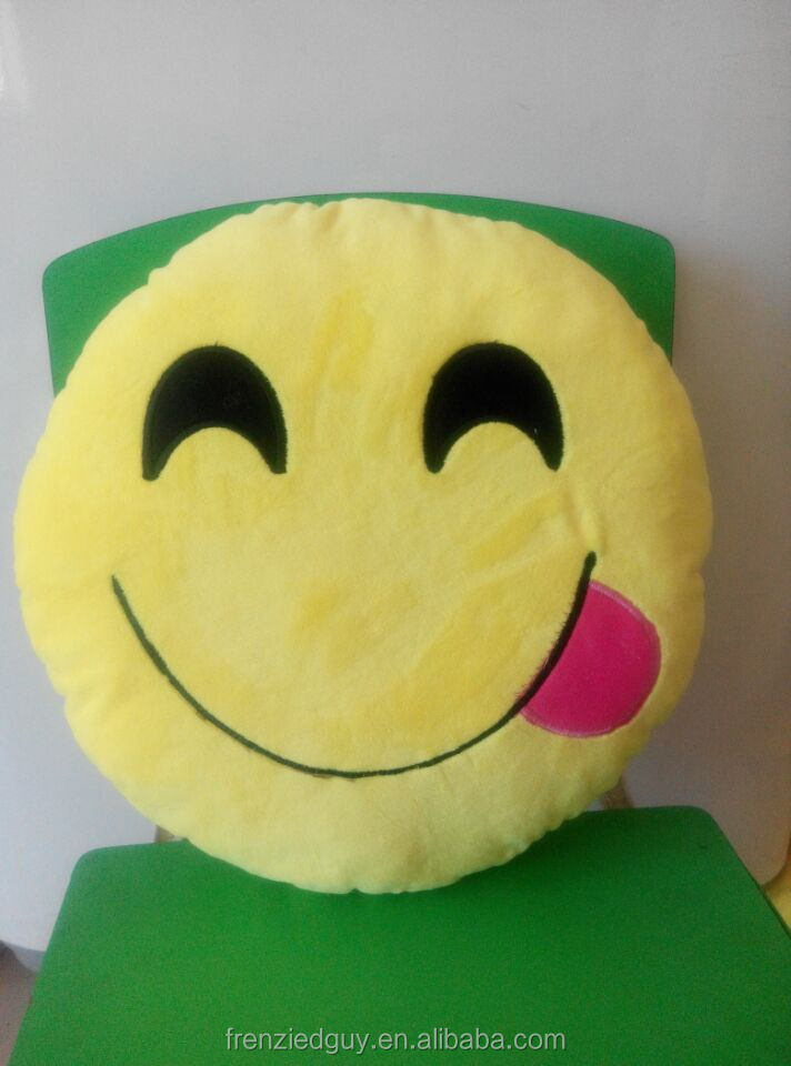 Cushion Smiley Emoticon Stuffed Plush emoji pillow