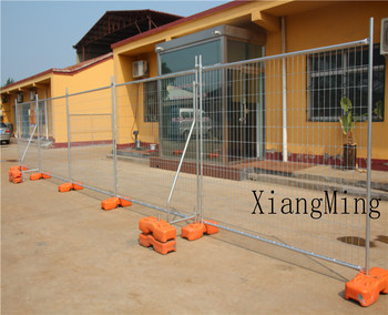 Dark Blue Temporary Construction site Fence / Outdoor Temporary Metal Fencing (Anping Factory)