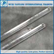 lucite transparent color acrylic rod 2mm for mutiple uses for good quality