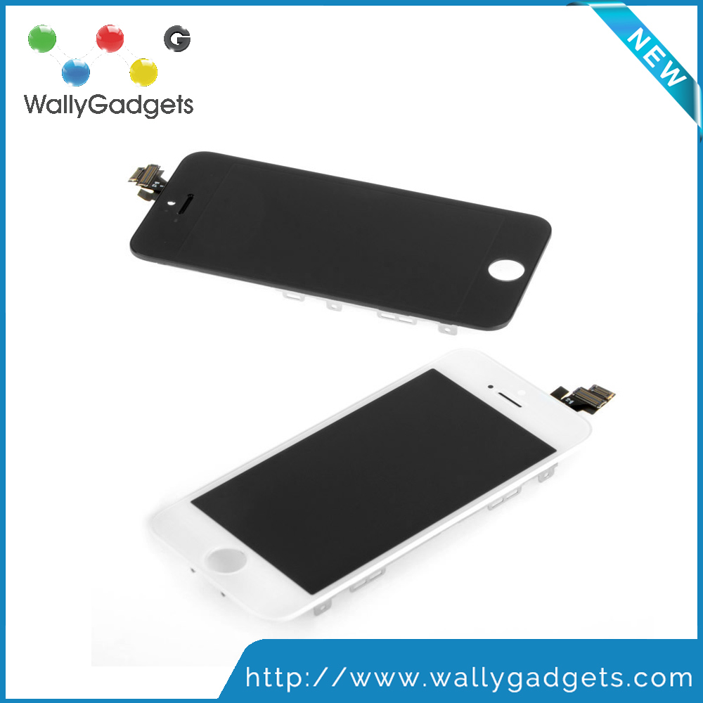 Made in China cold press High quality AAA Lcd screen digitizer assembly color lcd for iphone 5 for mobile accessories