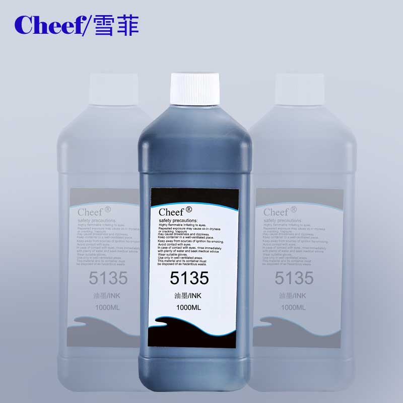 Image 1000ml 5135 manufacturing date printing ink, expiry date coding ink CIJ marking ink for Image