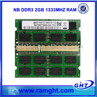 2013 Clearance stock memory 2gb ddr3 ram laptop