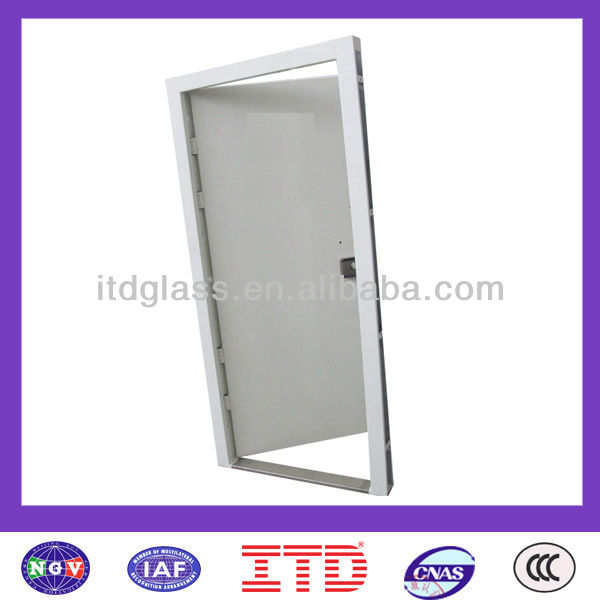 ITD-SF-EID0020 Stainless Steel Storm Doors with CCC & ISO 9001 Certificate