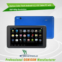 cheapest tablets android rockchip RK3188 quad core, 800*480p 1GB/4GB
