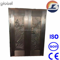 2016 main design antique copper door