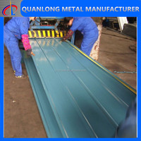 galvanized color coated glazed steel roofing tile