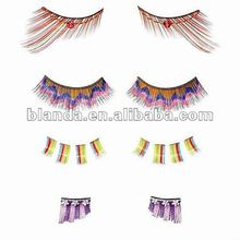 mini violet and vibrant partial eyelashes