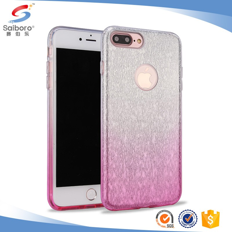 Glitter Bling Crystal Tpu hard case cover for iphone 6,Glitter case for iphone 6