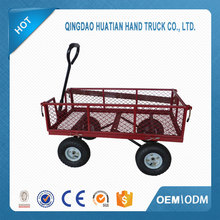 Free sample folding wagon cleaning trolley cart for sale