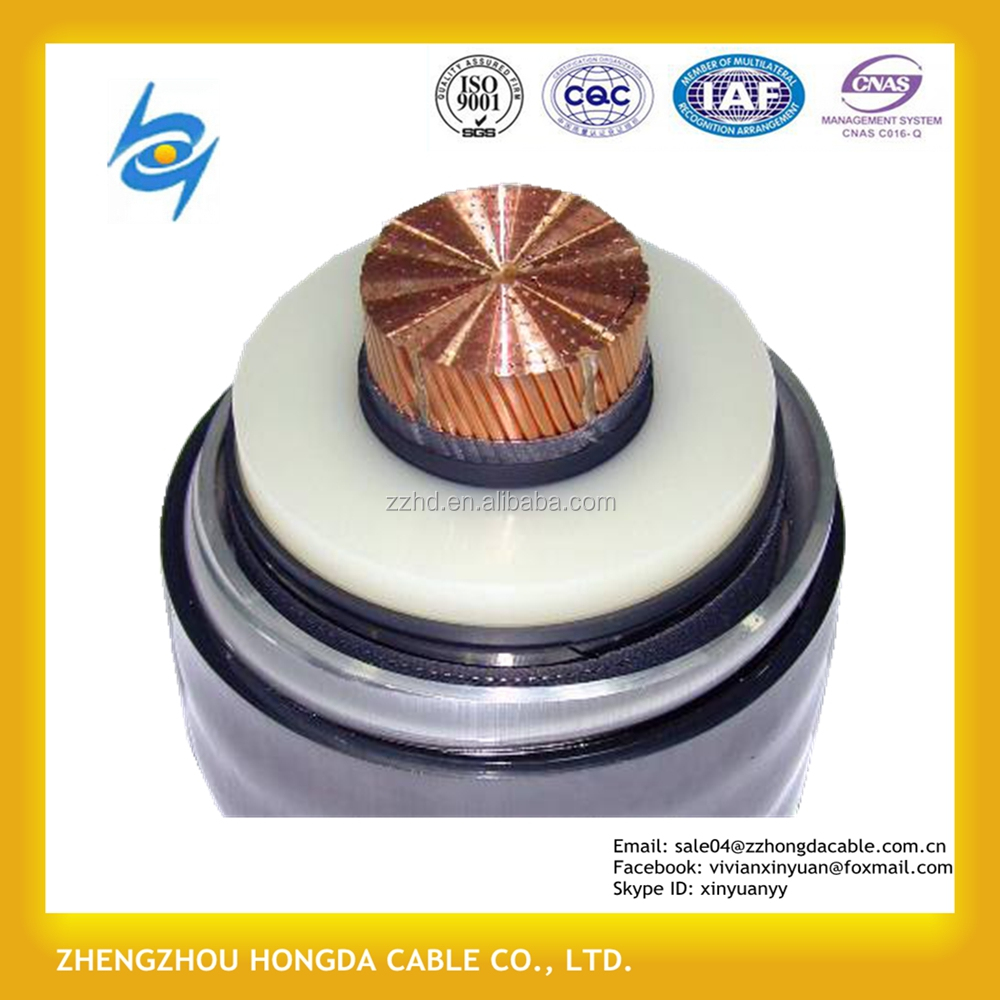 36kv 66kV 132kv XLPE Insulated Armoured Power Cable