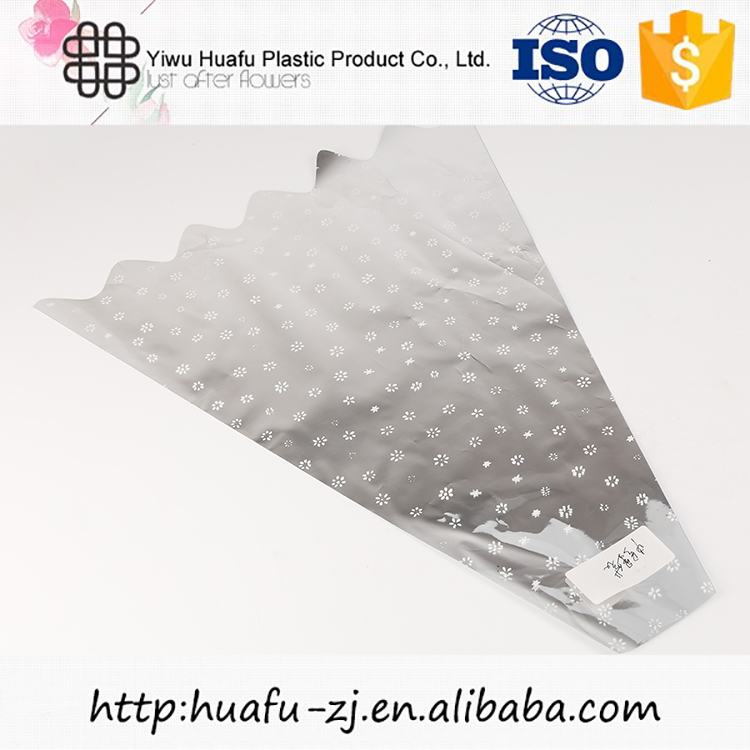 New selling custom design transparent plastic flower sleeves