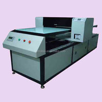 Industrial Multicolor T-shirt Printing Machine Photo