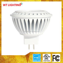 Aluminum Lamp Body Material and GU5.3 Base Type MR16 LED AC/DC12V
