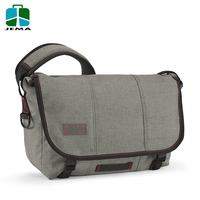 durable canvas custom laptop messenger bag for outdoor and school