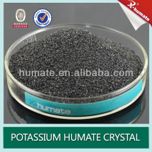 90% Organic Potassium Humate powder crystal or granular