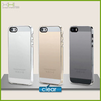 Crystal clear PC for iphone 5 5s case cover