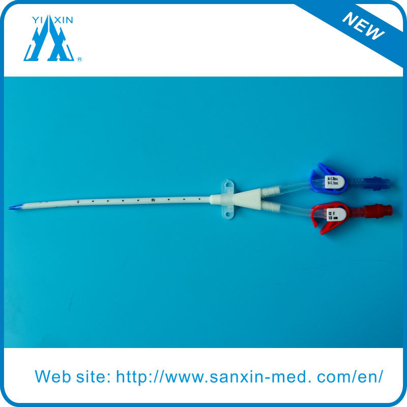 disposable hemodialysis catheter with different type