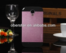 Ultra Thin Hard Brushed Aluminium ino Metal Case Cover for Samsung Galaxy S4 i9500