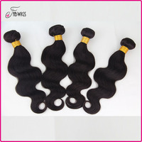 Fabwigs FH089 wholesale pure indian remy virgin human hair weft hot sale 8 inch virgin remy indian hair weft