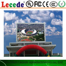 LECEDE hot sale P10 Wholesale price&high quality outdoor p10 led display and led badge