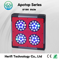 Plants Vegetative Apollo 4 LED Grow Lamps High Effect Growing Light Hydroponic System Growing Kits Flowering Panel 600w/800w